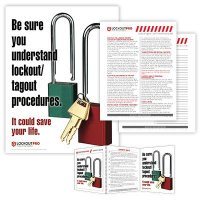 Be Sure You Understand  LOTO Procedures - Lockout Tagout Training Kit