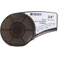 Brady BMP21 Plus M21-750-595-PL Label Cartridge - White on Purple