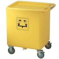 Bradley On-Site® Waste Cart -  S19-399