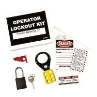 Brady 45598 Machine Operator Lockout Kit