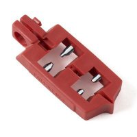 Brady® 65387 Snap-On 120V Red Circuit Breaker Lockout - Each