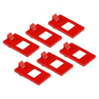 Brady 65404 Clamp-On Breaker Lockout Cleat (120/277V) - 6 Pack