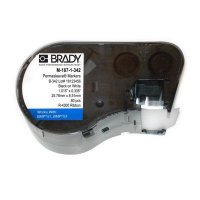 Brady BMP51/53 M-250-1-342 Label Cartridge - Black on White