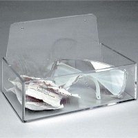Clear Acrylic Dispenser Tray