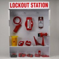 Brady Extra Large Lockout Station for Circuit Breaker and Valve Lockout Procedures