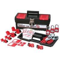 Brady® 105964 Circuit Breaker Lockout Kit w/ 3 Keyed Alike Safety Padlocks