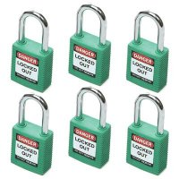 "Brady Safety Padlocks - 1.5"" Keyed Differently"