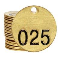 Brass Valve Tags - Duplicate Tags