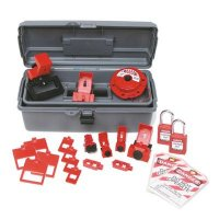 Brady 99307 Breaker Lockout Toolbox Kit With Brady Safety Padlocks & Tags