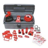 Brady 99308 Breaker Lockout Toolbox Kit With Brady Steel Padlocks & Tags