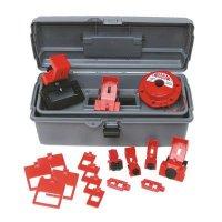 Brady 99305 Breaker Lockout Toolbox Kit