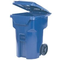 Brute Roll Out Containers - Rubbermaid® 9W21-73-BLUE