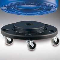 Brute® Waste Container Dolly  2BLK