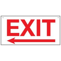 Bulk Exit Signs - Arrow Left