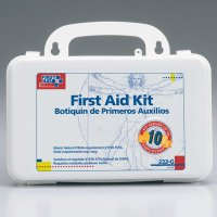 Bulk First Aid Kit, w/ Gasket - 10 Person First Aid Only 222-G