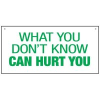 Bulk Warehouse Signs - What You Don't Know Can Hurt You