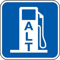 California Property Parking Signs - ALT Fuel Pump