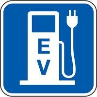 California Property Parking Signs - EV Pump