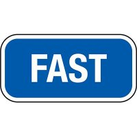 California Property Parking Signs - Fast