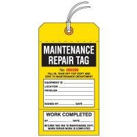 Maintenance Repair Tag