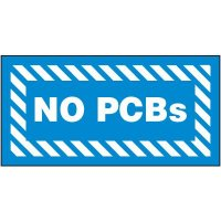 No PCB'S Label