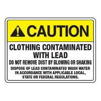 Clothing Lead Contaminate - California Chemical Labels