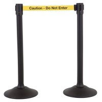 Caution Cuidado - Sentry Stanchions