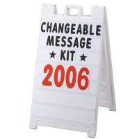 Changeable Message Kit - Plasticade® 8410