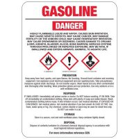 Chemical GHS Signs - Gasoline