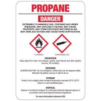 Chemical GHS Signs - Propane