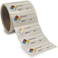 NFPA Chemical Name Labels-On-A-Roll