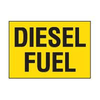 Chemical Safety Labels - Diesel Fuel