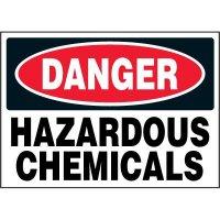 Chemical Labels - Danger Hazardous Chemicals