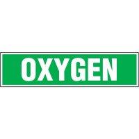 Chemical Labels - Oxygen