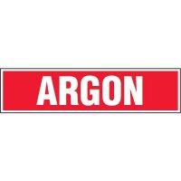 Chemical Labels - Argon