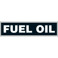 Chemical Labels - Fuel Oil
