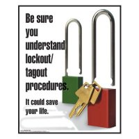 Clement Safety Posters - Lockout Procedures