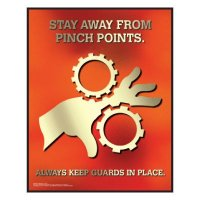 Clement Safety Posters - Machine Guards
