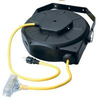 Coleman Cable - Luma-Site® Cord Reels w/Lighted Tri Source® Southwire 4820