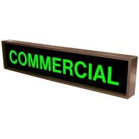 Commercial Backlit LED Sign