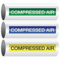 Compressed Air - Opti-Code™ Self-Adhesive Pipe Markers