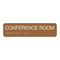 Conference Room - Standard Worded Braille Signs