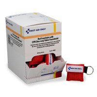 CPR Face Shield in Keychain Pouch - First Aid Only J5095