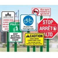 Custom Design Traffic & Parking Signs