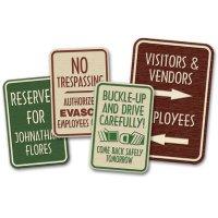Custom Designer Property Signs