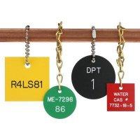 Custom Engraved Plastic Valve Tags