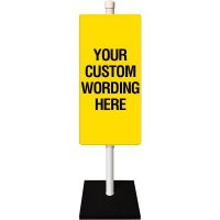 Custom Single Sided Flexible Sign Stanchion System