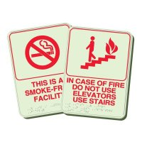 Custom NFPA Stairwell Sign
