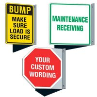 Custom Reflective Flanged Signs
