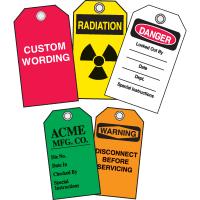 Custom Safety Plastic Tags